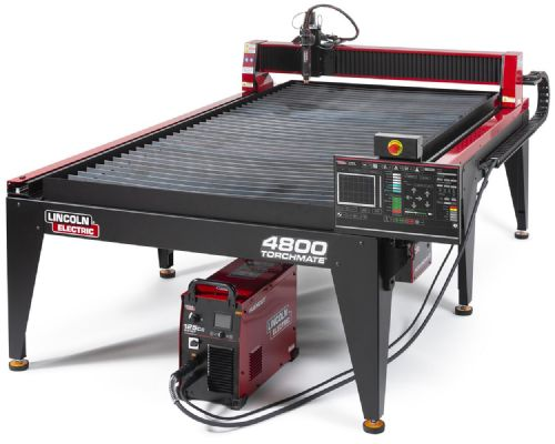 Lincoln Torchmate 4800 4ft x 8ft CNC Plasma Cutting Table with FlexCut 125 CE Plasma Cutter BK-LECS-